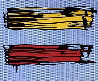 R. Lichtenstein Painting