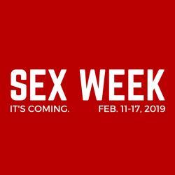 Sex Week logo