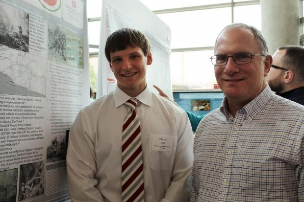 Tyler Webb and Dr. Peter Mansoor