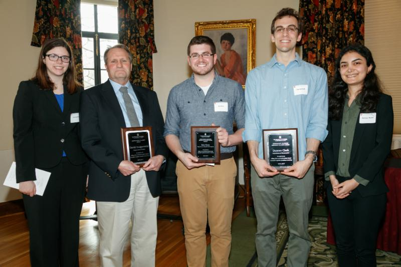 2016 - 2017 Teaching Award Recipients