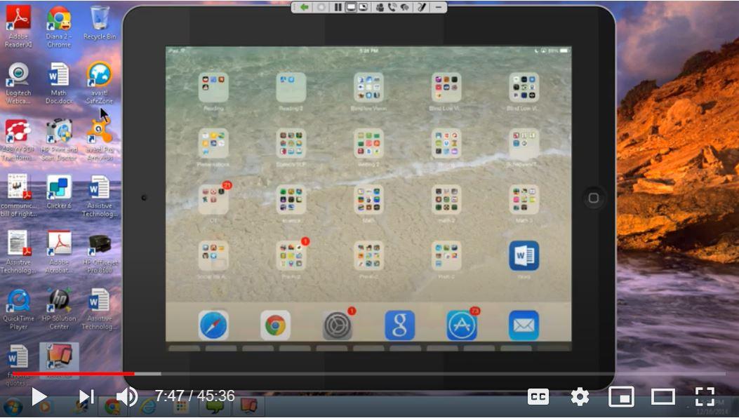Ablenet university video on apps