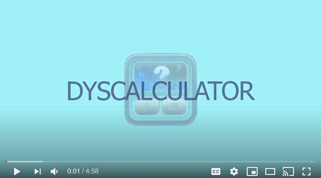 Presentation of the Dyscalculator App