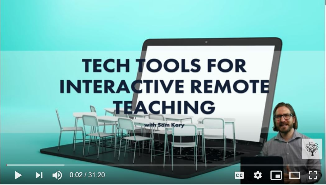 Opening Screen Shot for Tech Tools Videos