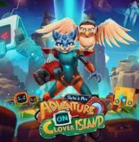 Clover Island characters and logo