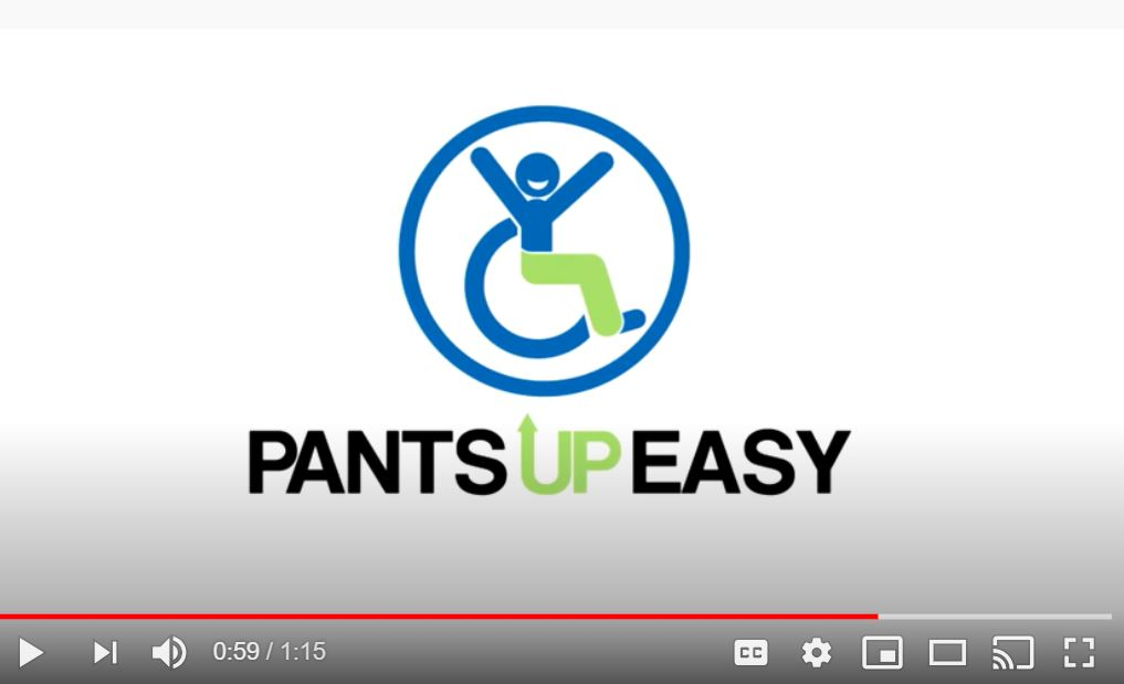 The Pants Up Easy Logo