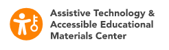 Logo for the Assistive Technology and Accessibility Educational Materials Center