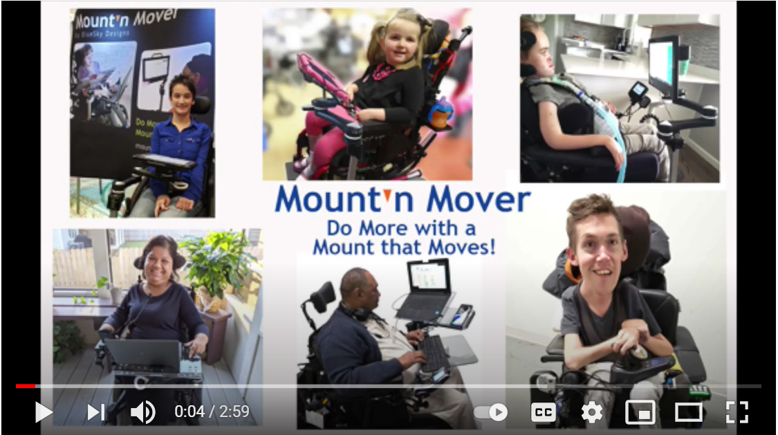Collage of pictures of Mount Mover users