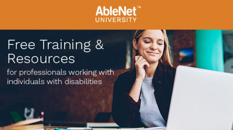 Link to Collection of AbleNet University Training Webinars