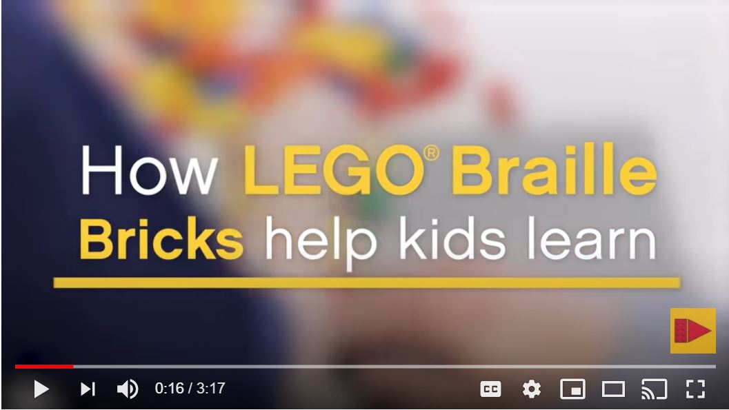Introduction video to Lego Braille Bricks