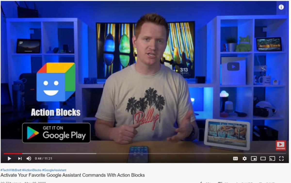 Video introduction to Google Action Blocks