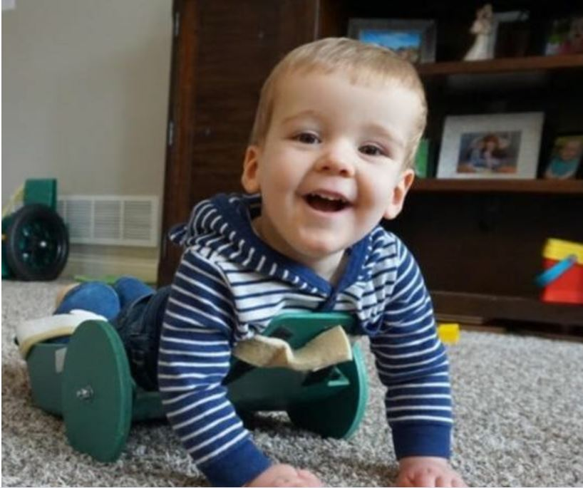 Assistive Technology to assist with crawling
