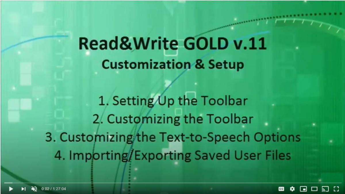 Introduction Slide to Read and Write Training