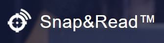 SNAP AND READ LOGO