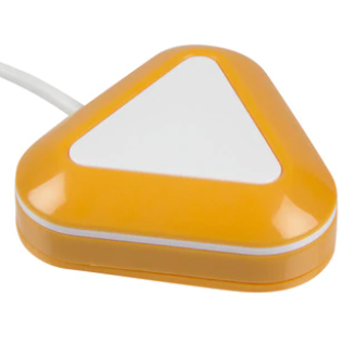Yellow and whit candy corn proximity switch