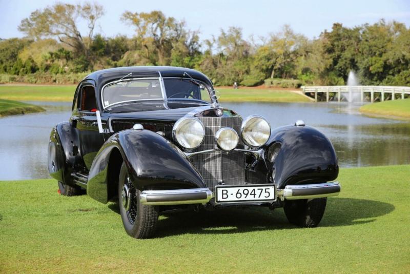 1938 Mercedes-Benz 540K Autobahn-Kurier. 2019 Best in Show, Concours d'Elegance