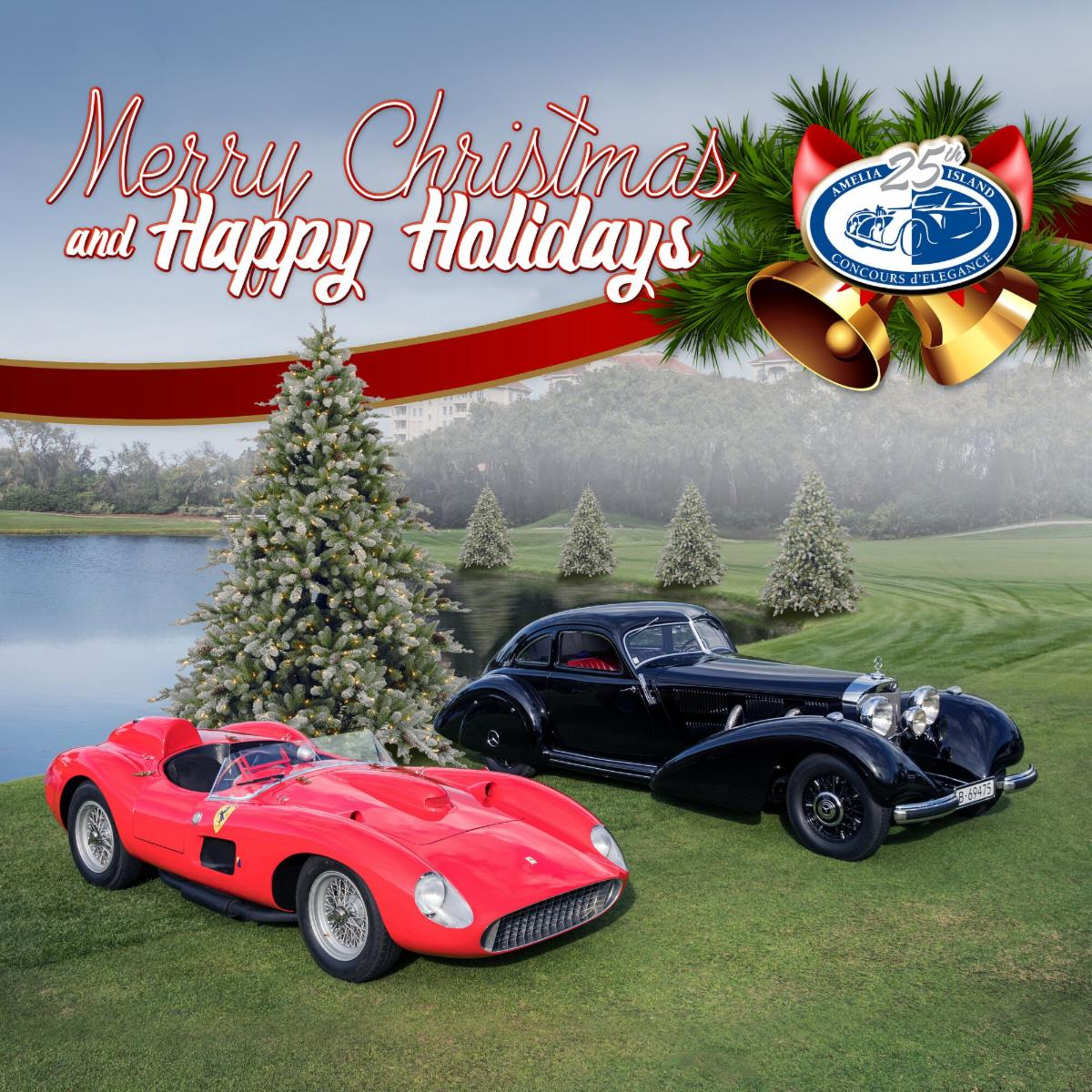 Merry Christmas And Happy Holidays From The Amelia Island