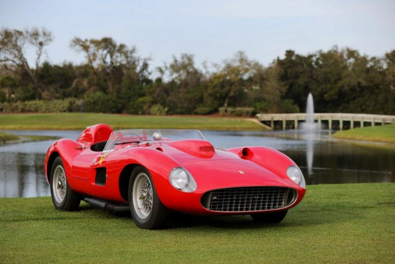 1957 Ferrari 335 S. Best in Show, Concours de Sport