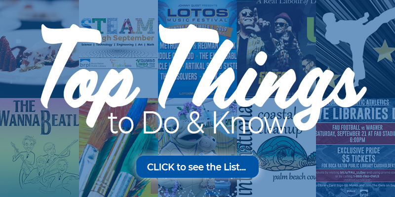 Top things to do and know click to see the list.
