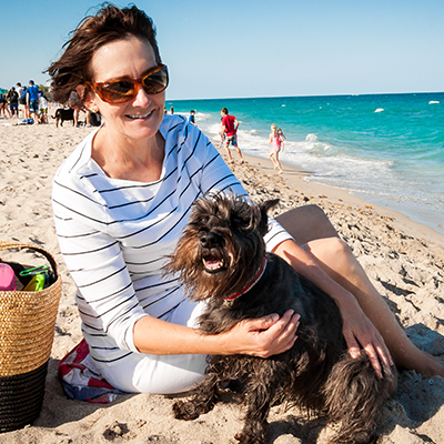 dog beach in Boca Raton