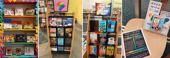 Pride Month displays at Boca Raton public libraries