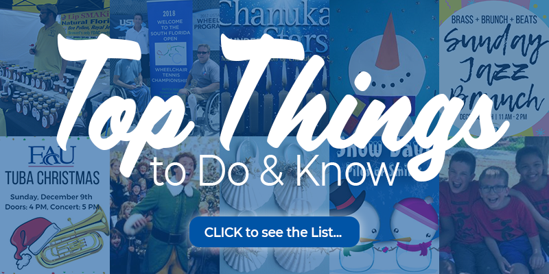 top things to do and know december 2018: click to see the list