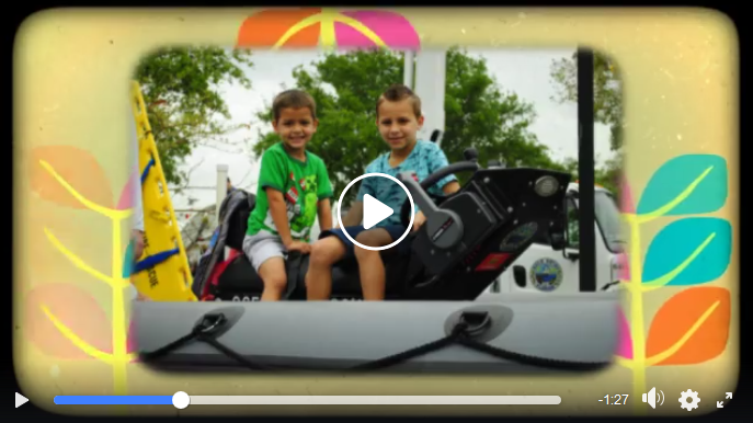 screenshot of Boca Raton Public Library's Touch a Truck video