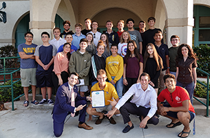 Boca Raton's Community Advisory Panel Youth Subcommittee Wins Statewide Competition
