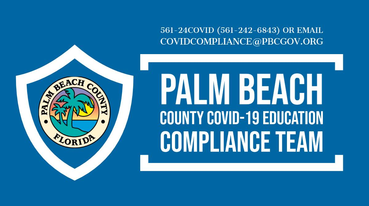 Palm Beach County Covid-19 Education Compliance Team