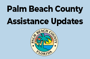 Palm Beach County assistance updates