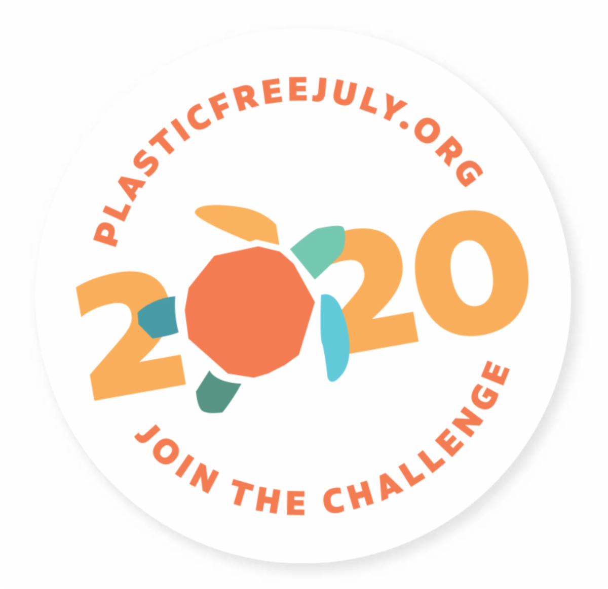 plasticfreejuly.org Join the challenge. 2020