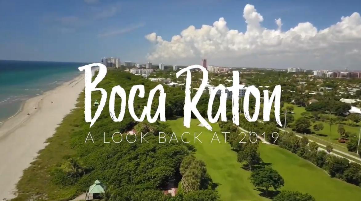 Boca Raton a look back at 2019