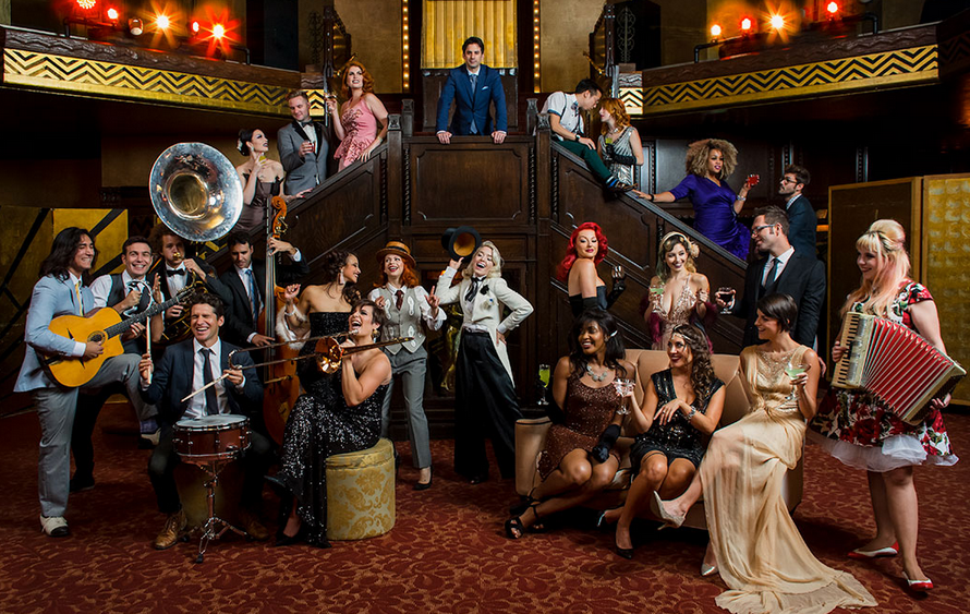 Musicians and singers from Postmodern Jukebox