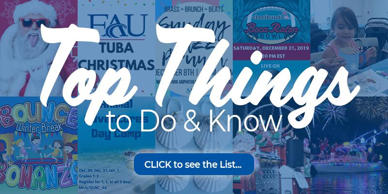 Top things to do and know december 2019. click to see the list.