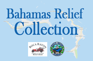 Bahamas Relief Collection. City of Boca Raton.