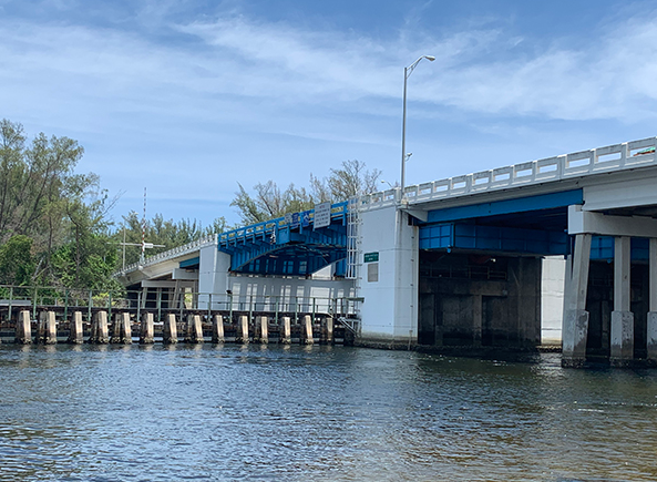 spanish river boulevard intracoastal waterway bridge