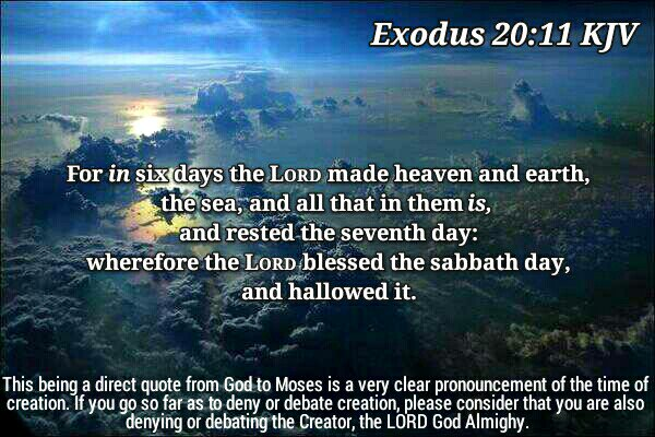 Exodus-20-11-God-Created-In-Six-Days-Creation-Bible-Refutes-Evolution