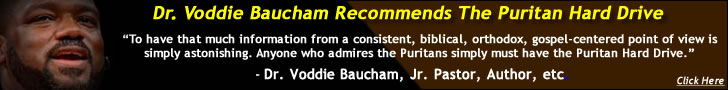 Dr. Voddie Baucham Recommends SWRB's Puritan Hard Drive - Reformed Baptist