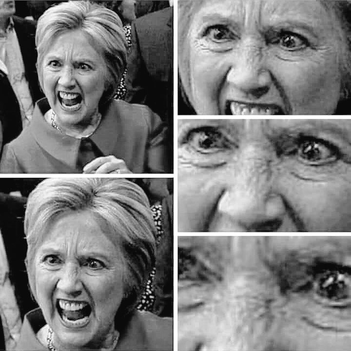 Hillary Angry Bad Temperament Temperment