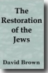 Restoration of the Jews David Brown Book Cover