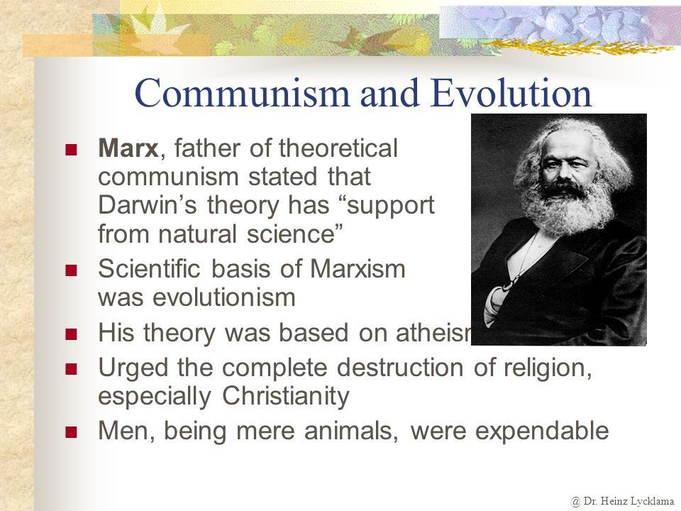 Communism-Evolution