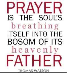 Thomas Watson Puritan Quote - Prayer
