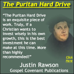 Martin Luther graphic with Rawson Gospel Covenant Puritan Hard Drive Review