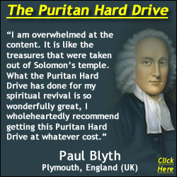 Jonathan Edwards Graphic With Blyth Puritan Hard Drive Review Quote - Sanctification, Holiness, and the Reformed Faith Email