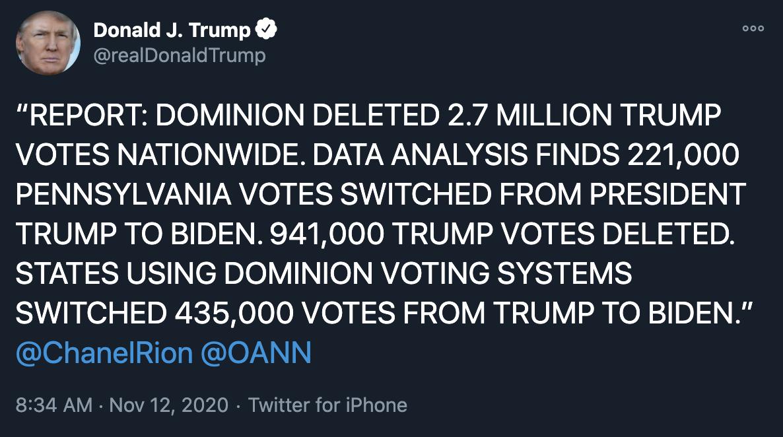 Trump-Tweet-Massive-Election-Fraud