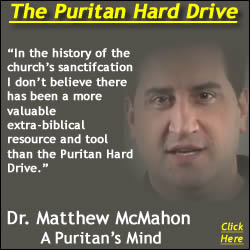 Dr. C. Matthew McMahon Puritan Hard Drive Review Comments Quote Graphic
