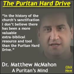 Dr. C. Matthew McMahon Puritan Hard Drive Quote Graphic