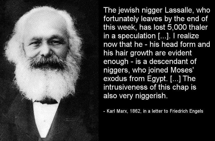 Marx-Vile-Communist-Racist