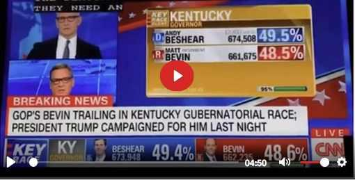 Egregious electronic vote fraud right in front of your very eyes on CNN