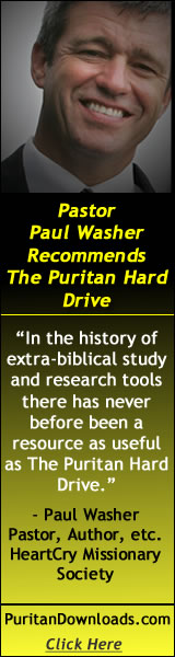 Paul Washer Reviews and Recommends the SWRB Puritan Hard Drive. Click Here!