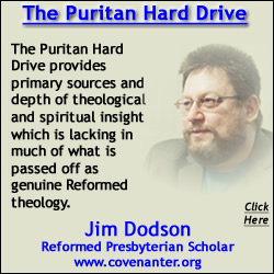 Jim Dodson Reformed Presbyterian Scholar Review Quote On the Puritan Hard Drive